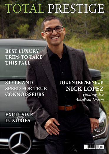 On cover Nick Lopez
