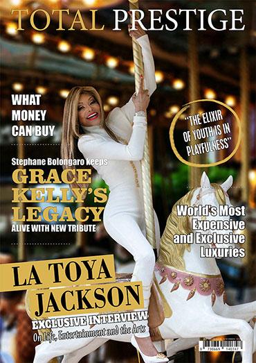 On cover La Toya Jackson