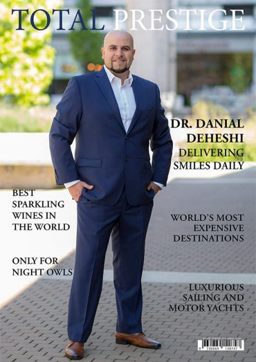On cover Dr. Danial Deheshi