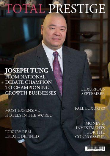 On cover Joseph Tung